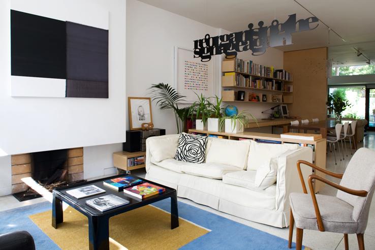 House & Home Magazine - my favorite room. Eva Byrne, Dublin 4 - September 2008. Photo - Paul Sherwood paul@sherwood.ie www.sherwood.ie 00 353 87 230 9096 Copyright - September 2008.