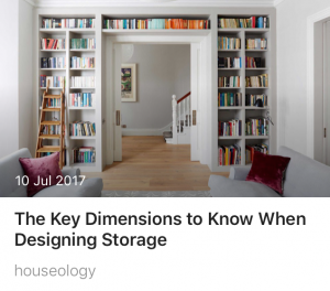 Maximise Storage Space houseology